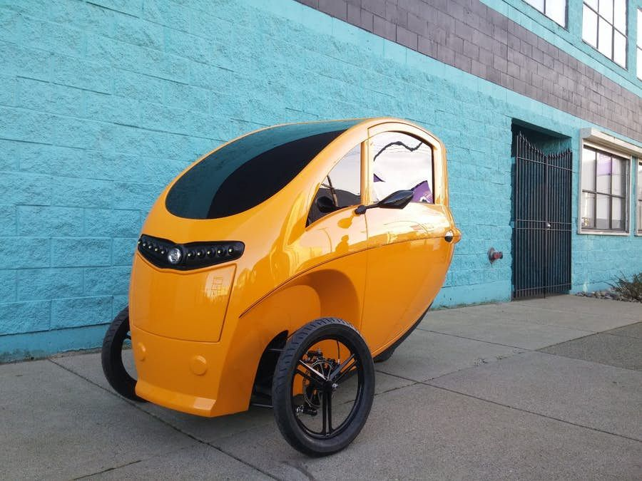 The Veemo Has An Automatic Transmission Including A Reverse Gear Hydraulic Disc Brakes And A Full Bike Car Reverse Gear