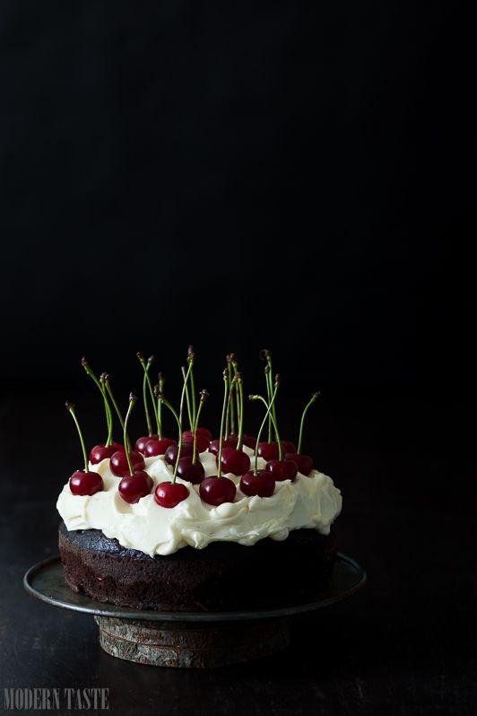 Ciasto Czekoladowe Z Guinnessem I Wisniami Sweet Tooth Dessert