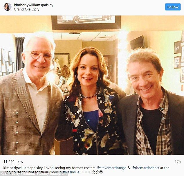 kimberly williams paisley took to instagram to share a photo of her steve martin and martin short 25 years after their film father of the bride - Steve Martin Christmas Movie