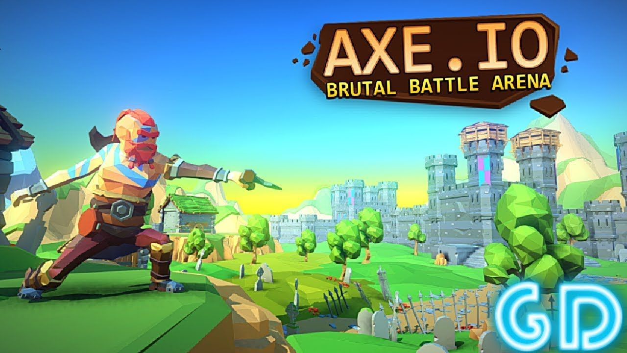 AXE.IO Gameplay Android & iOS PvP Survival games, Free