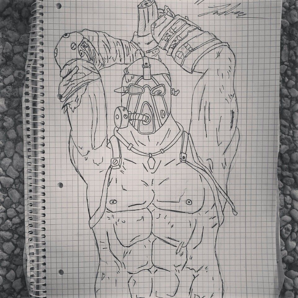 tried to draw KRIEG from Borderlands 2