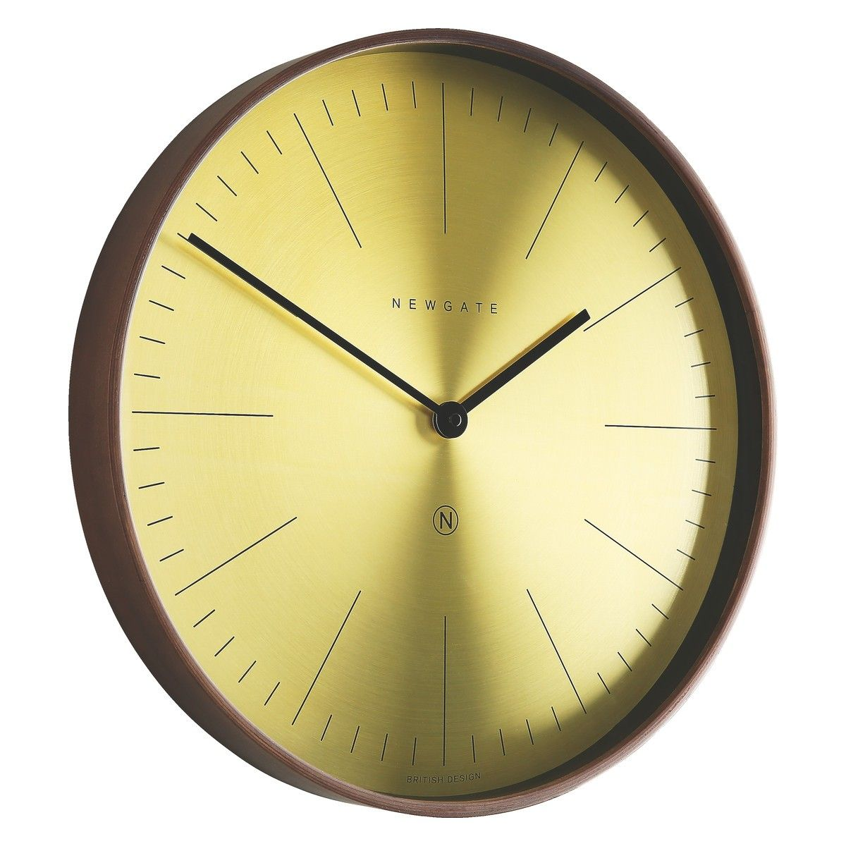 Clarke brass and plywood wall clock plywood walls plywood and