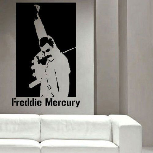 East Urban Home Wandtattoo Freddy Mercury   Wayfair.de #freddiemercury