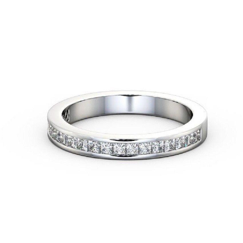 IGI Certificate Princess Diamond Channel Eternity Wedding