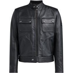 Leather BomberPorsche-Design.com #leatherjacketoutfit