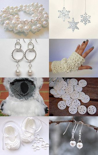 Winter White by Jo Blanset on Etsy--Pinned with TreasuryPin.com