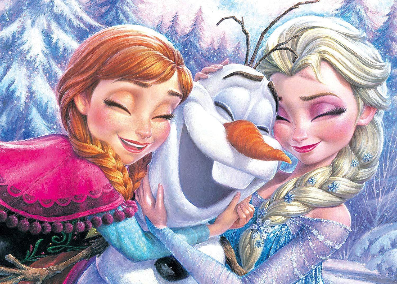Frozen Elsa Anna Olaf From Disney Diamond Painting Kit Princess Risunki Personazha Disnej Disneevskie Temy Risunki Disneya