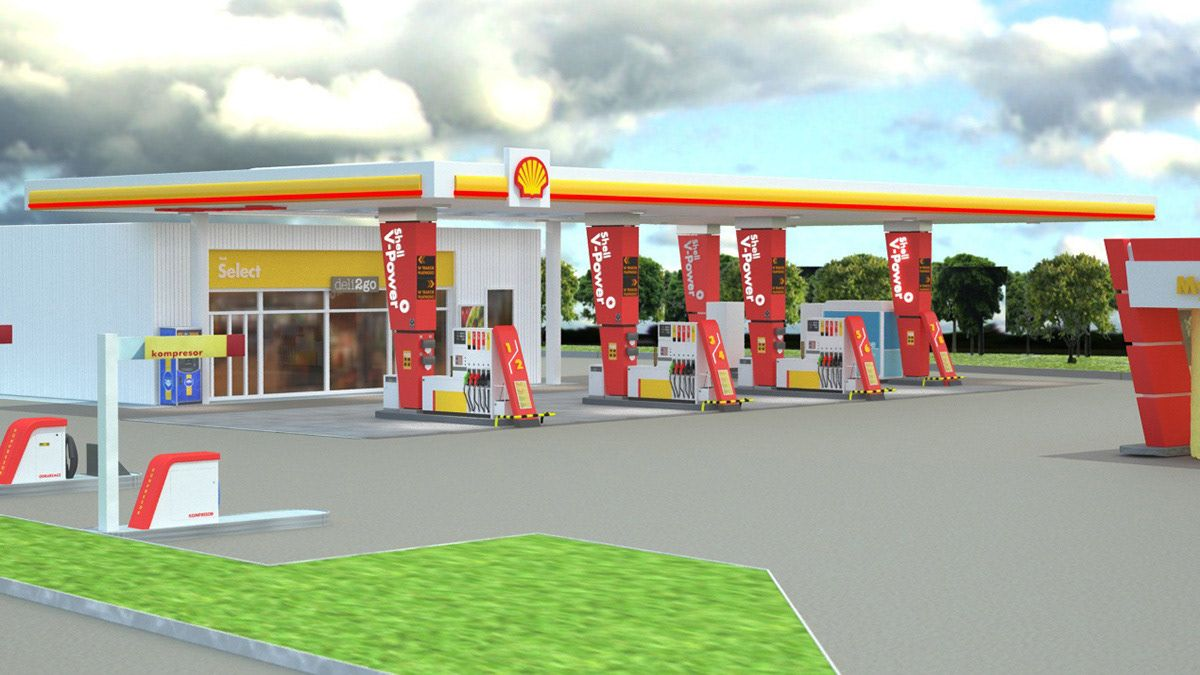 Echa Un Vistazo A Este Proyecto Behance Shell V Power Visualizations Katowice Poland Https Www Behance Net Gallery 56472801 Shell V Con Imagenes Proyectos Identidad
