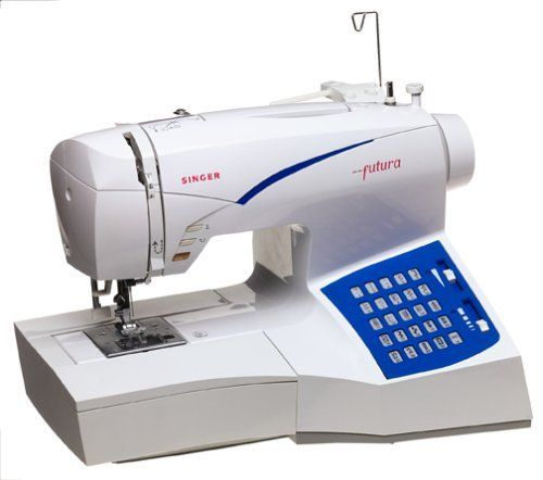 554 03 Singer Ce 100 Futura Sewing And Embroidery Machine By