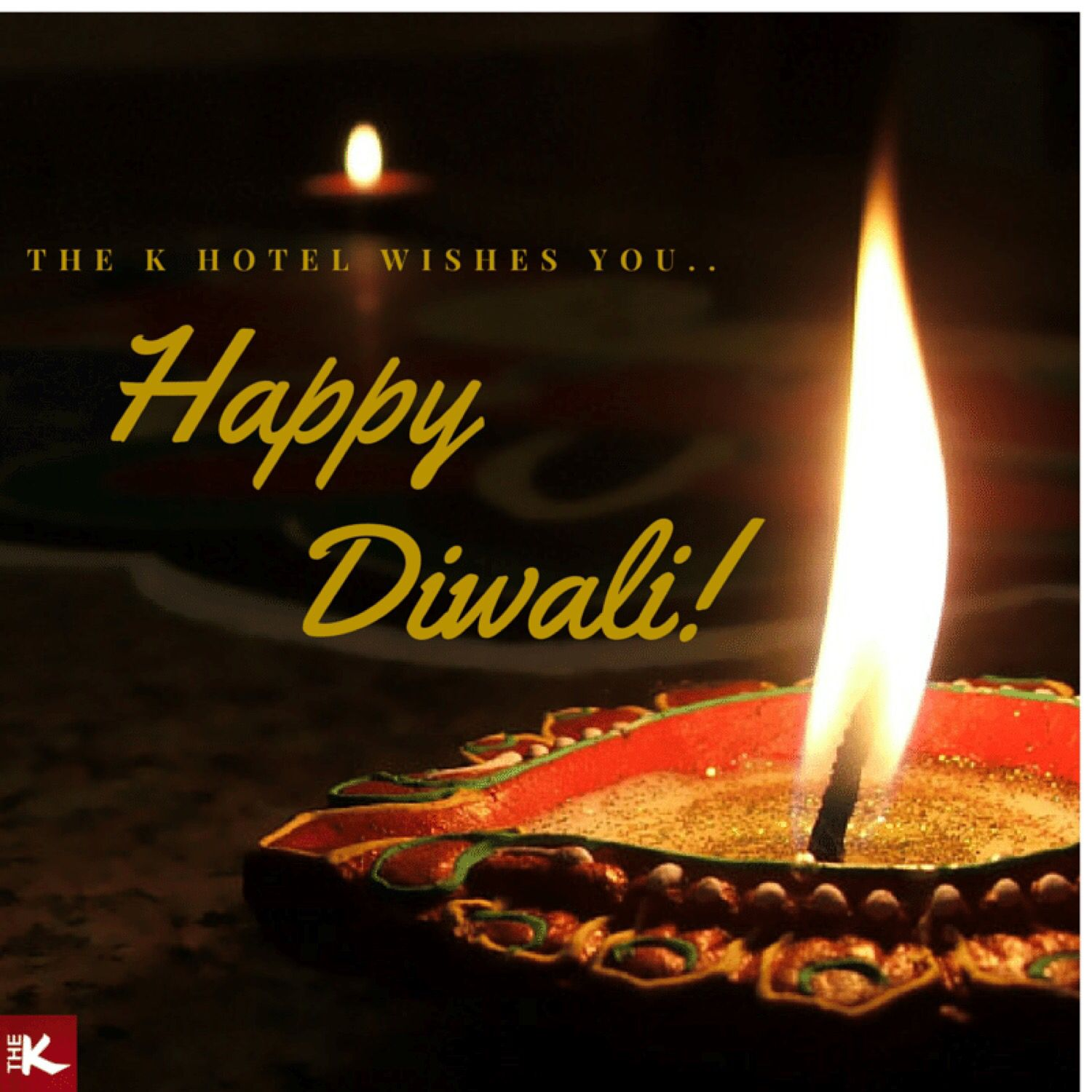 For this, is a special time when family & friends get together. Celebrate this festive season with us at #Thekhotel. Happy Deepavali!