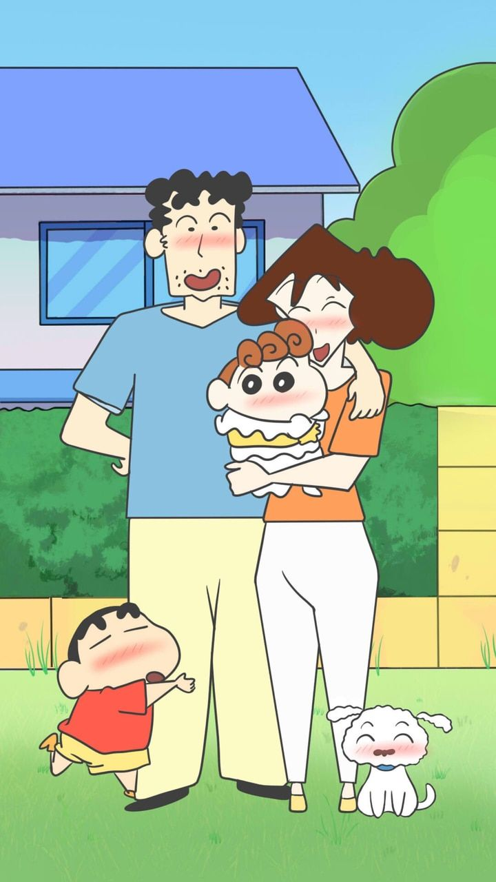 Shin-chan discovered by Naty on We Heart It