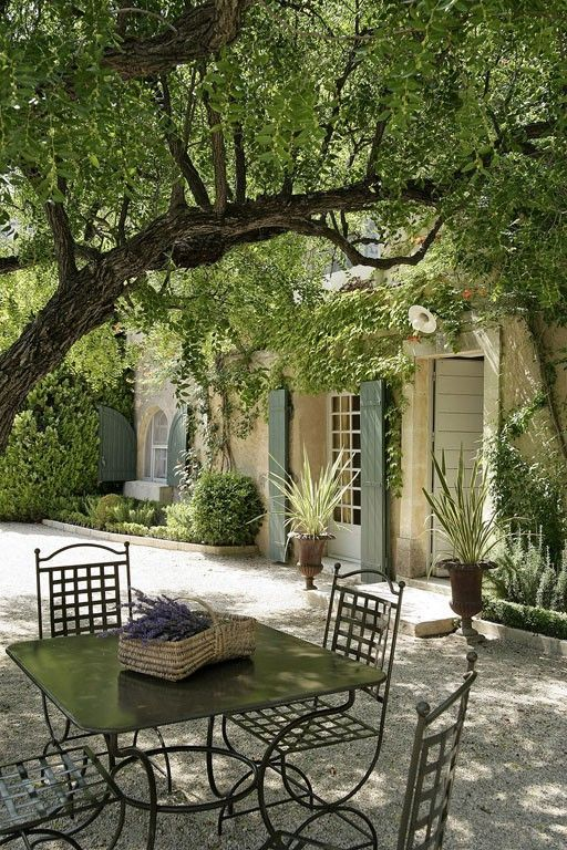 Lovely Timeless French Château Interiors & Garden - Hello Lovely