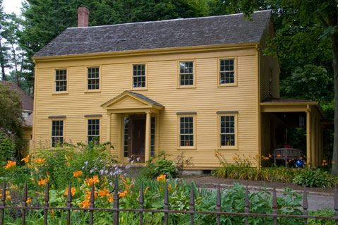 Colonial house colonial design pinterest colonial for Saltbox house additions