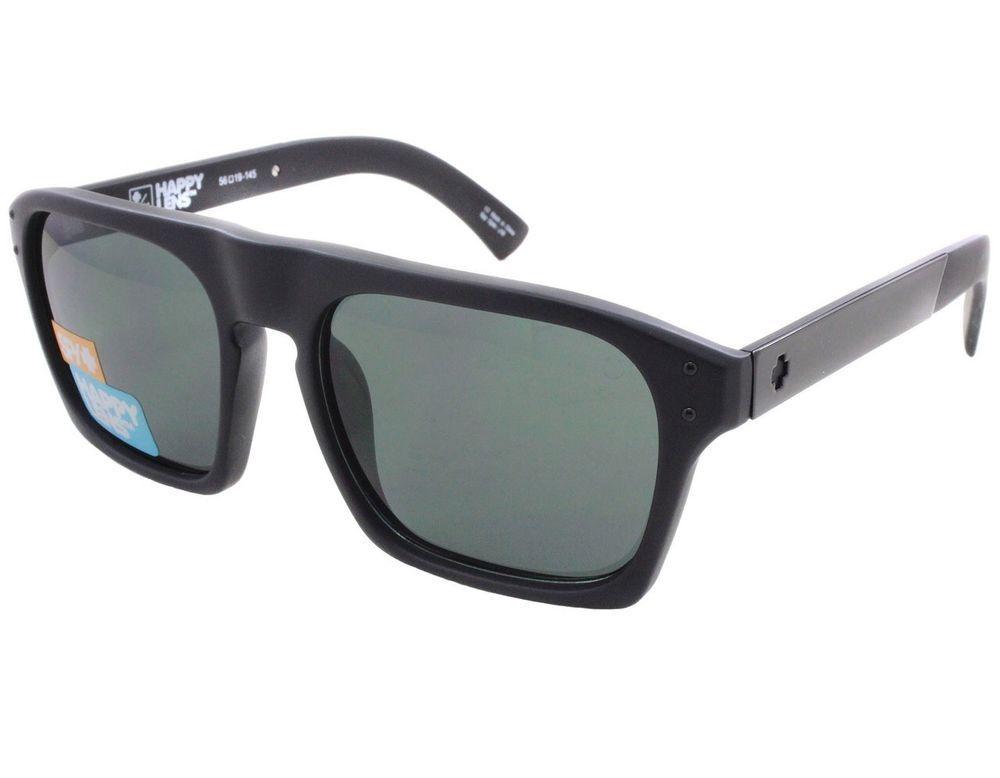 d4315422a2c SPY OPTIC BALBOA Men s Sunglasses Black w  Happy Grey Green Polarized Lens   fashion  clothing  shoes  accessories  mensaccessories ...