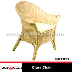 Ciara Chair Kursi Rotan Alami KRT011