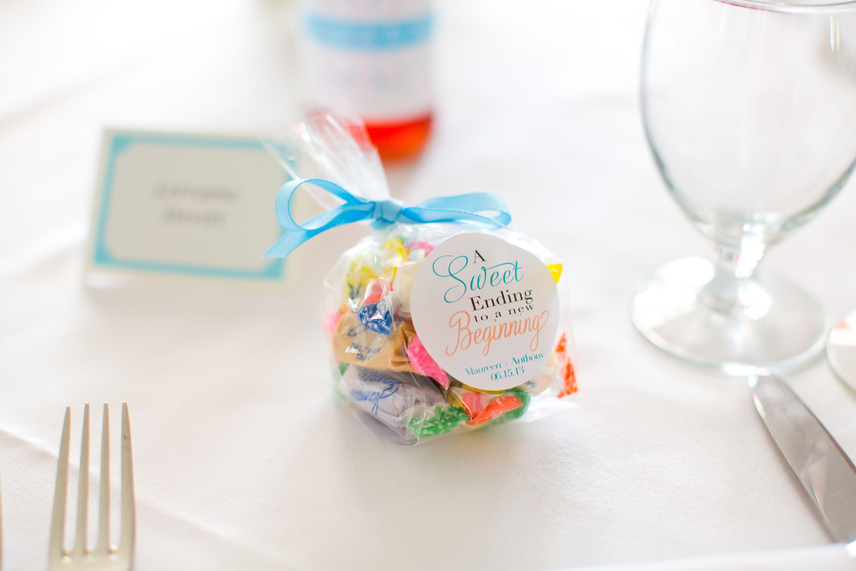 Salt water taffy favor for beach wedding | Our Wedding! | Pinterest ...