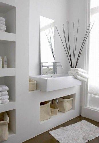 15 Banos Modernos En Color Blanco Decoracion Banos Muebles De
