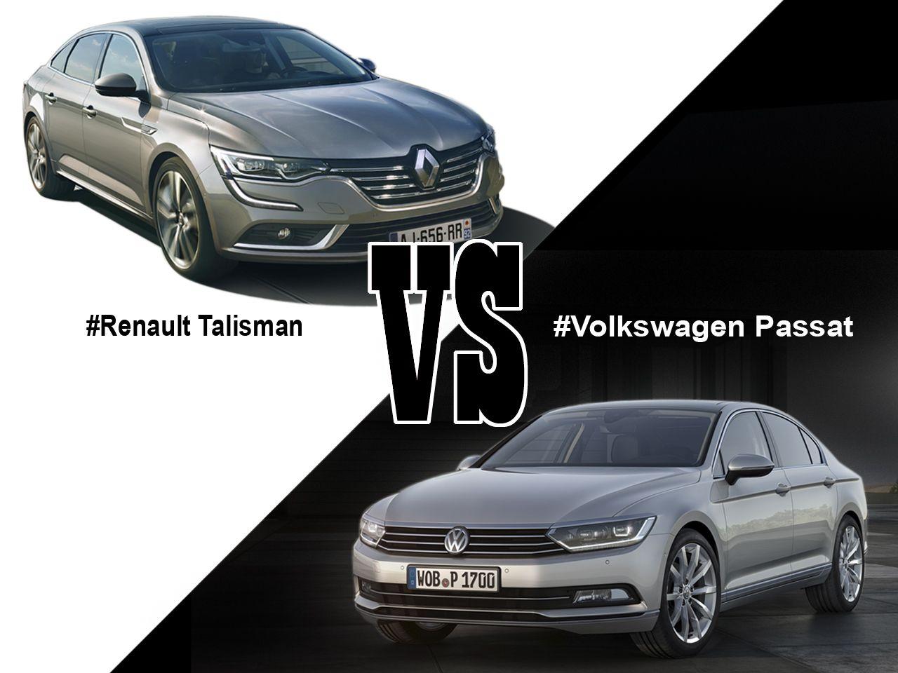 Renault talisman vs volkswagen passat premier match volkswagenhtmlcar