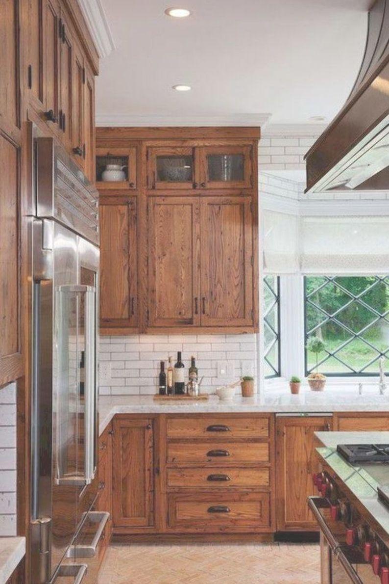 40 Awesome Craftsman Style Kitchen Design Ideas 20 Schrank Kuche Rustikale Kuchenschranke Kuche Ideen Bauernhaus