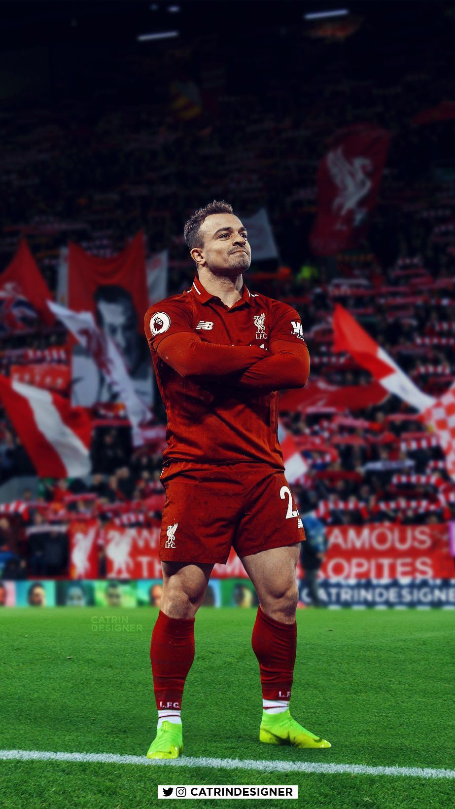 Xerdan Shaqiri Liverpool Football Liverpool Team Liverpool Players