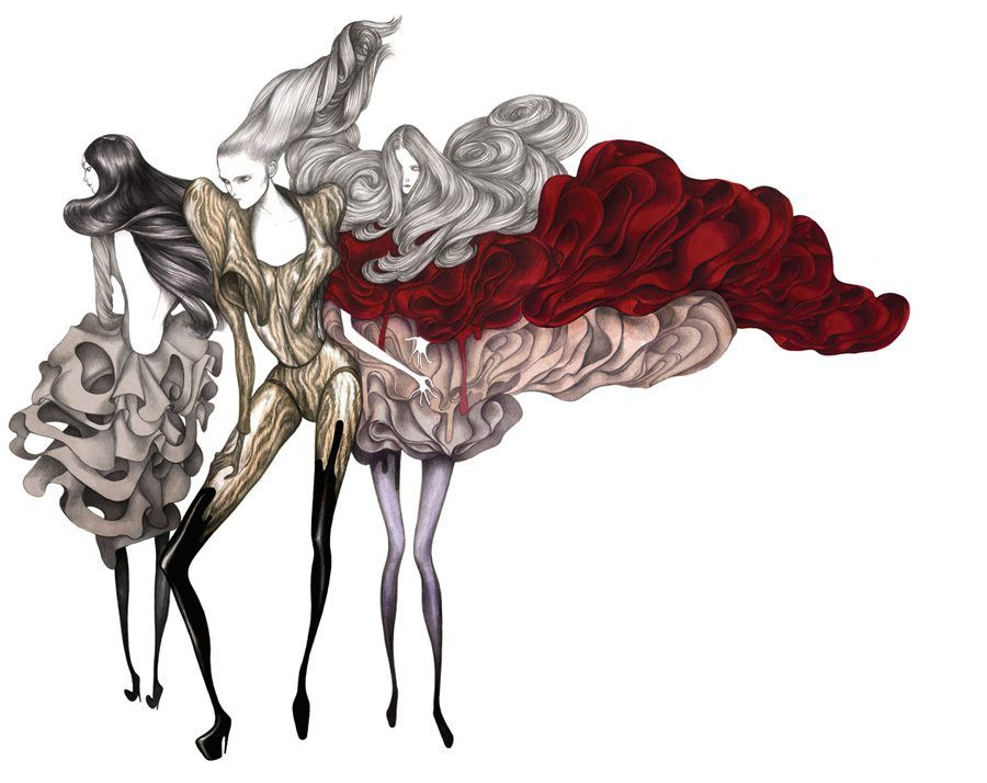 Fashion Illustration has established itself as a full-fledged industry in the past few decades. Fashion illust... -  Laura Laine1 . Discover More at: http://www.topteny.com/top-10-illustrators-fashion-industry/