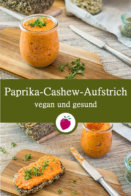 Paprika-Cashew-Aufstrich #simplehealthydinner