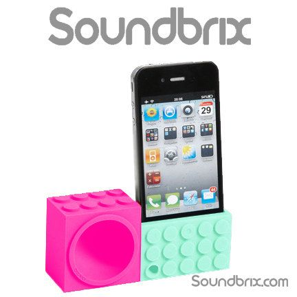 Soundbrix iPhone 5 5S 5C iPod 5 Amplifier Powerless by FirstLine, $16.99