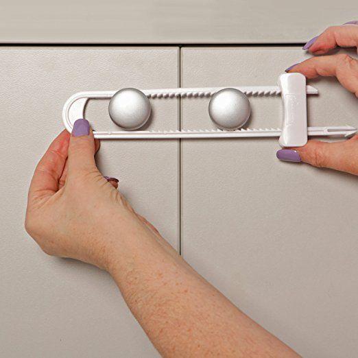 Amazon Com Dreambaby Sliding Locks 3 Pack Cabinet