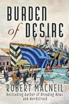 Burden of Desire centres on the love triangle between Halifax south-end belle Julia Robertson, Dalhousie professor Stewart MacPherson, and young Anglican minister Peter Wentworth. Julia keeps a diary detailing her sexual fantasies, which she has with her at the moment of the blast that was the Halifax Explosion. Her diary is in her coat, which is donated to a clothing drive. Peter discovers the diary and becomes fixated on its author, enlisting the help of his friend Stewart to find her.