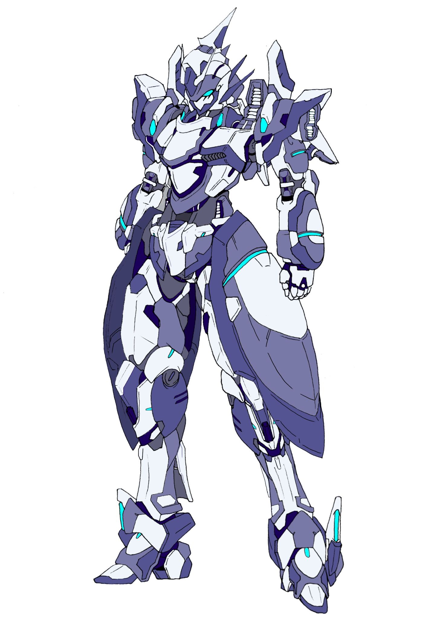 Anime Concept Art Mecha