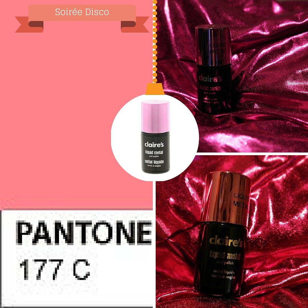 Pink 38827 Liquid Metal Claire's accessories on wishlistpolish.com