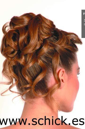 recogido alto Peinados Pinterest Recogido alto, Recogidos y Alto