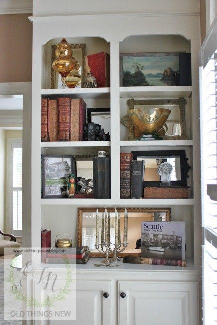 Brilliant Mirrored Bookcases