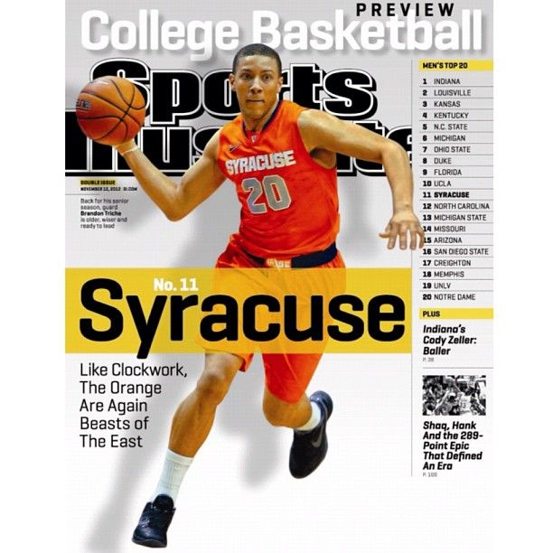 Syracuse Guard Brandon Triche Is Older Wiser And Ready To Lead The 3rd Of 4 Sportsillustrated Regional Covers Sports Illustrated College Basketball Sports