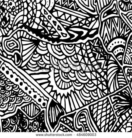 Sketchy vector hand drawn