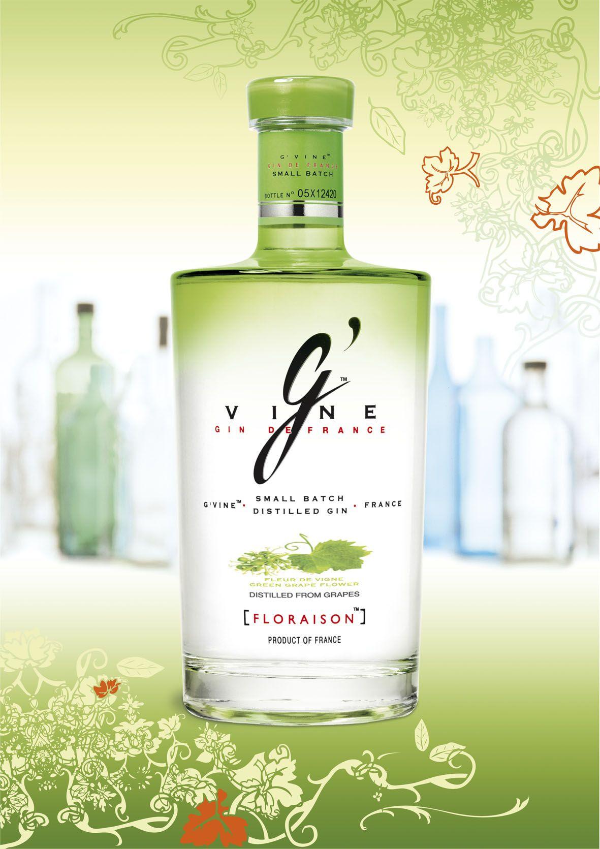 G Vine La Mejor Ginebra Del Mundo Gin Copa De Balon Botellas
