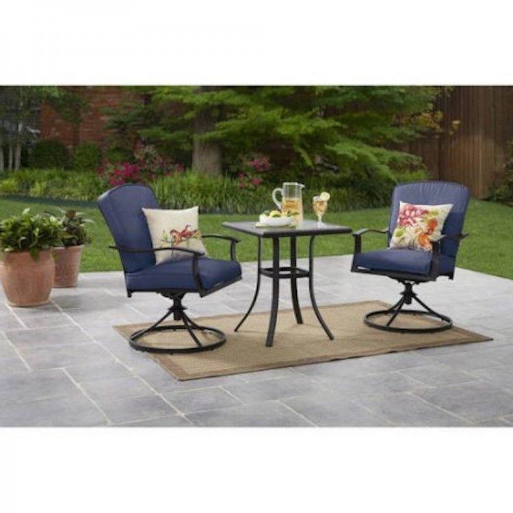 Tufted Cushions 3pcs Patio Garden