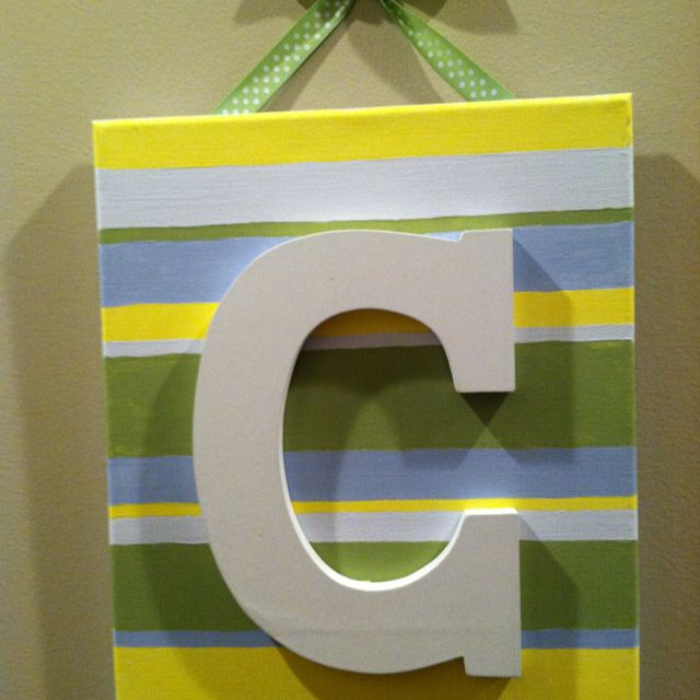Another Cute Do It Yourself Decor You Can Make For A Baby