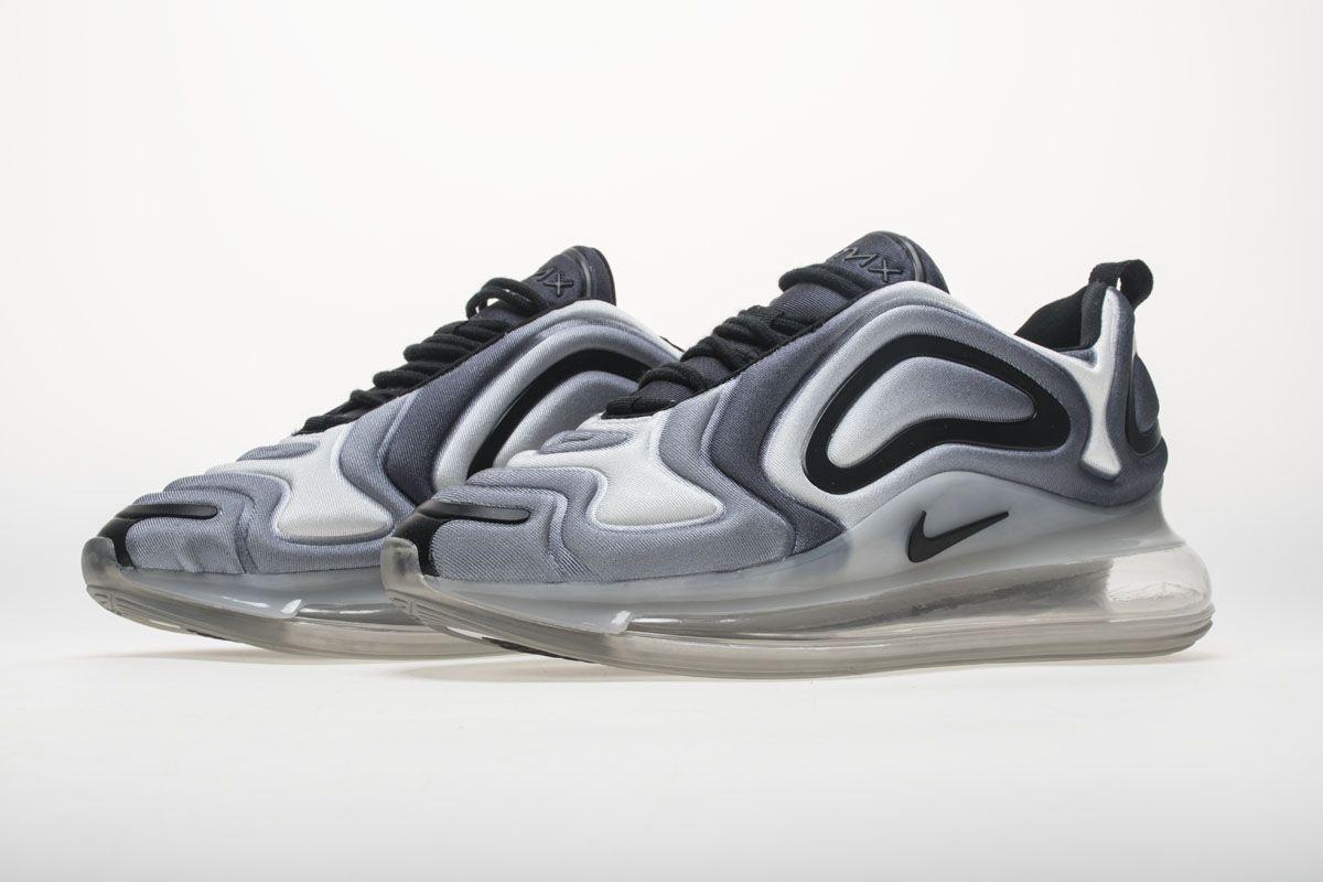 13b383c22edd05 Nike Air Max 720 AR9293-002 Carbone Grey Black Shoes4