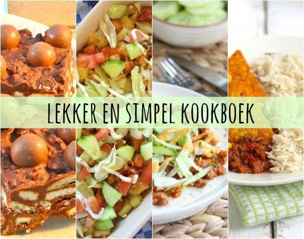 Benieuwd naar ons kookboek poll lekker en simpel for Kookboek lekker en simpel
