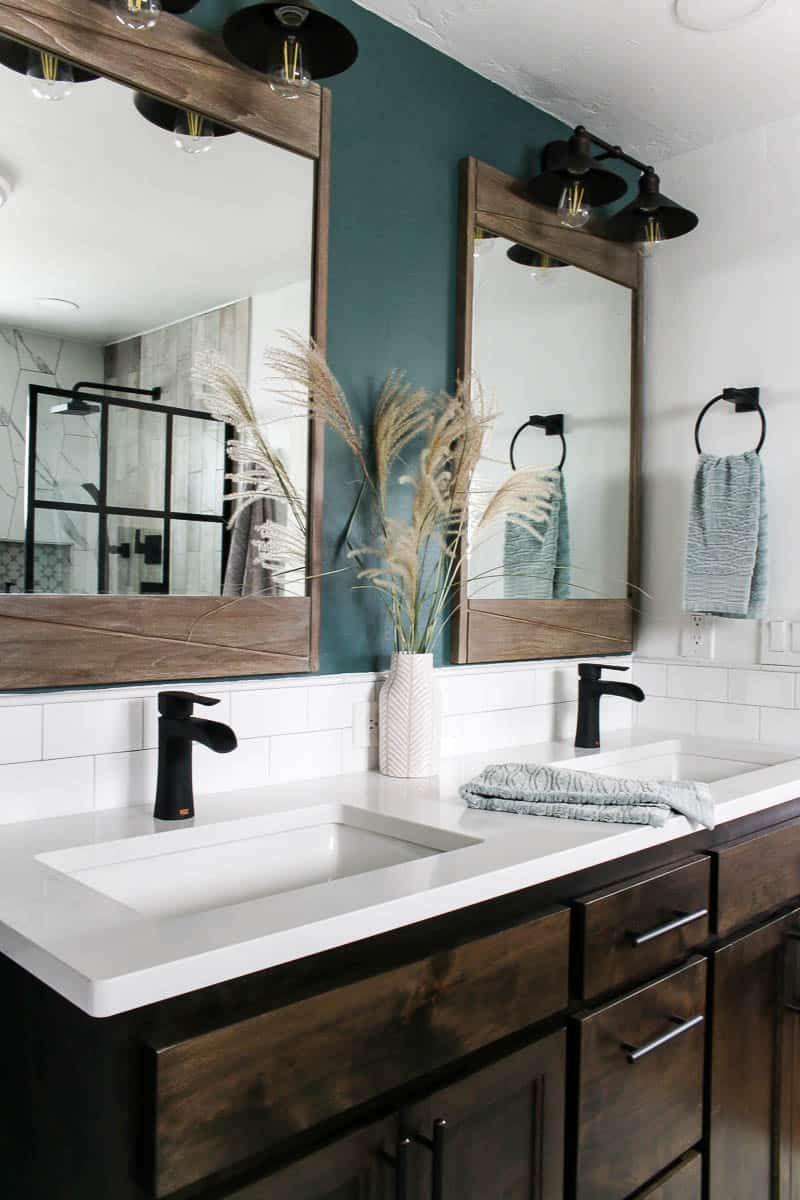 Photo of Modern Bathroom Reveal! – Making Manzanita