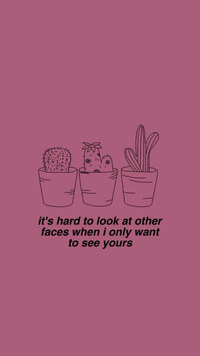 E Dificil Olhar Para Outros Rostos Quando Eu So Quero O Seu