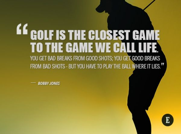 Inspirational Golf Quotes Fair The Masters 10 Inspirational Golf Quotes For Entrepreneurs  Golf