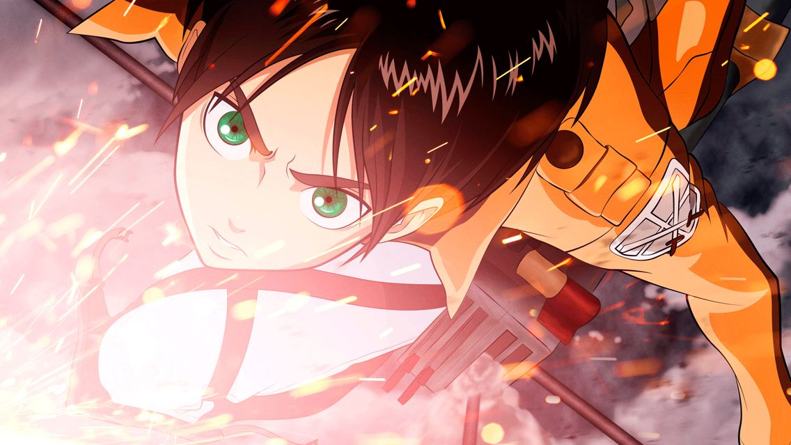 Eren jaeger anime attack on titan anime attack on