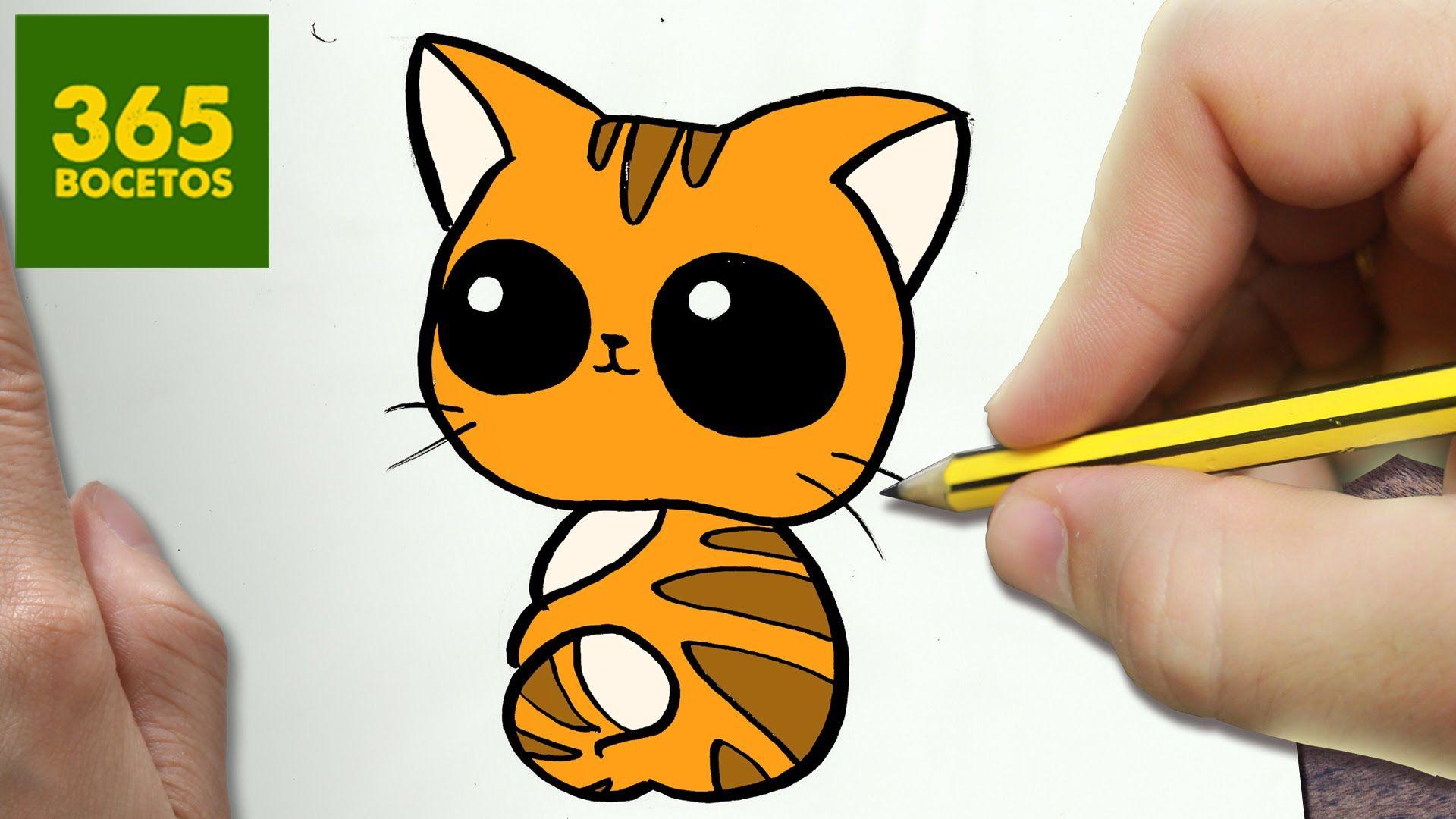 Como Dibujar Gato Kawaii Paso A Paso Dibujos Kawaii Faciles How To D Dibujos Kawaii Dibujos Kawaii Faciles Como Dibujar Un Gato