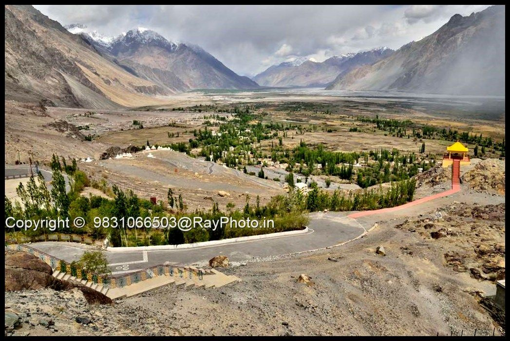 Nubra Valley Is A Tri Armed Valley Located To The North East Of