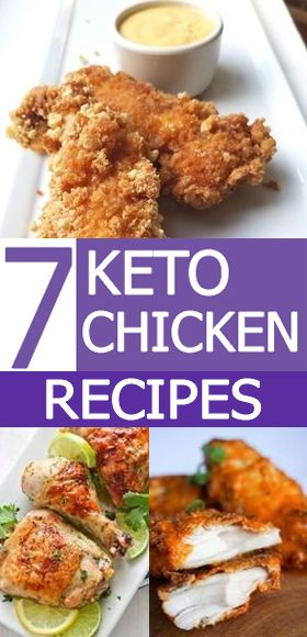 7 Keto Chicken Recipes / Keto Diet #ketodietforbeginners