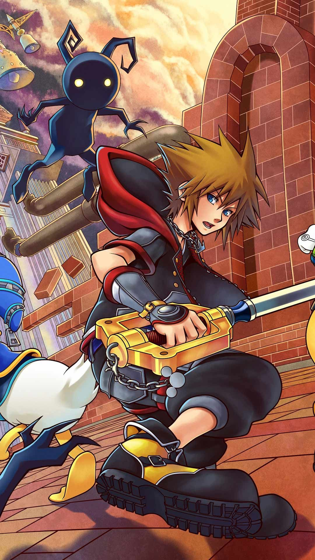 20 Kingdom Hearts 3 Phone Wallpaper Hd Backgrounds Iphone Android Free Characters Art Download Kingdom Hearts Phone Wallpaper Downloadable Art Lock screen kingdom hearts 3 iphone