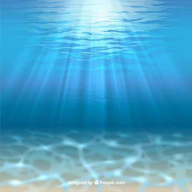 Fondo del mar con rayos de sol vector gratis ss18 como for Fondo del sol