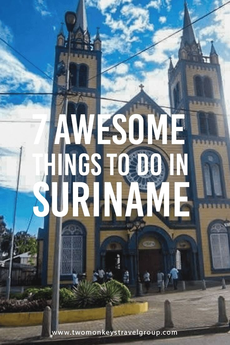 Banken Suriname 7 Awesome Things To Do In Suriname The Inner City Of
